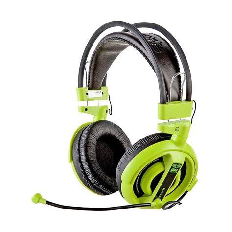 Armaggeddon Pulse 6 Gaming Headset Biru harga e blue ehs013gr cobra gaming headset green
