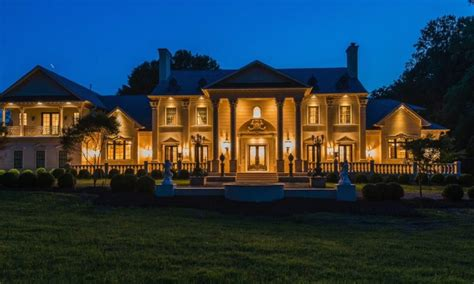 luxury and limestone mega mansion inspired by a
