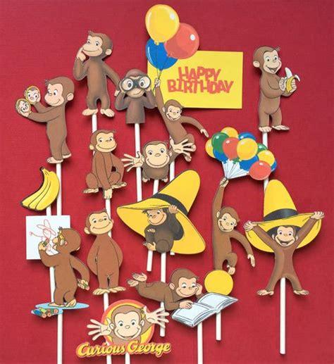 imagenes de cumpleaños jorge decoraci 243 n de jorge el curioso para cumplea 241 os infantiles