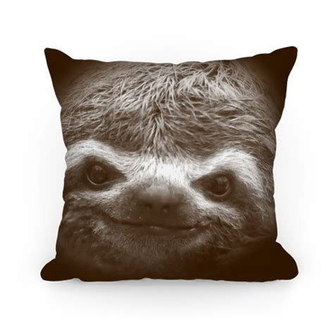 sloth pillows and pillow cases human