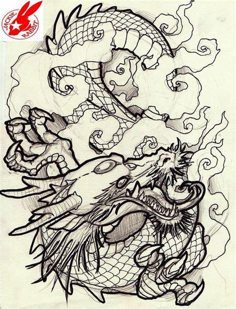 tattoo dragon pinterest japanese dragon tattoo design by jackie rabbit flickr