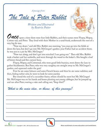 Idea Worksheets 5th Grade by 34 Best Images About Rabbit On Cause And