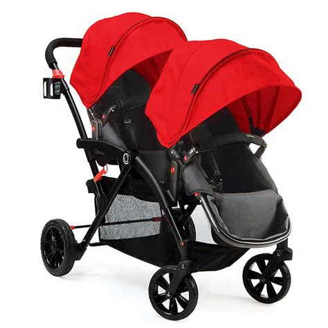 2 seat stroller for toddlers kolcraft contours options tandem stroller how to
