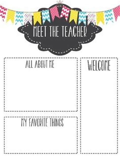 meet the letter template 15 best miss kiz images on classroom ideas