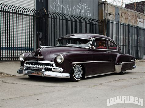Wheels 2005 1947 Chevy Fleetline Black 1952 chevrolet fleetline deluxe lowrider magazine
