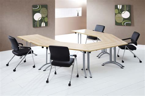 Half Moon Conference Table Half Moon Folding Meeting Table Connex 1400mm X 700mm Reality