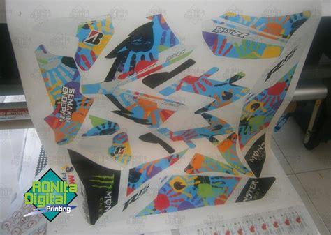 Stiker Mobil Motif Anjing Intip decal sticker ronita digital printing