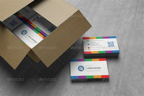 Rainbow Business Card Template by 25 Rainbow Business Card Templates Free Premium