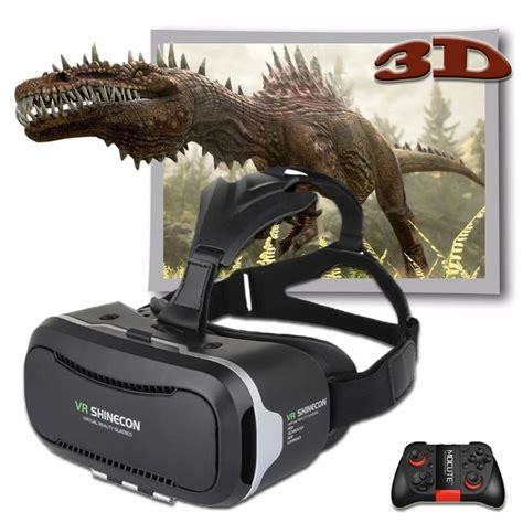 Vr Cardboard Third Generation Leather Mount 3d Reality shinecon vr pro version reality 3d glasses headset mount cardboard