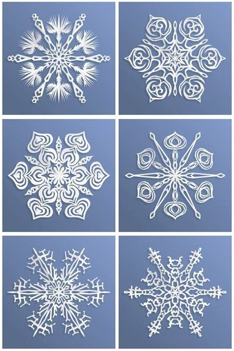 Paper Snowflake - look an app that makes paper snowflakes paper