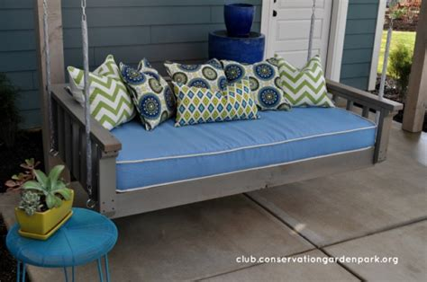 swinging daybed plans 15 outdoor relaxing hanging daybeds always in trend
