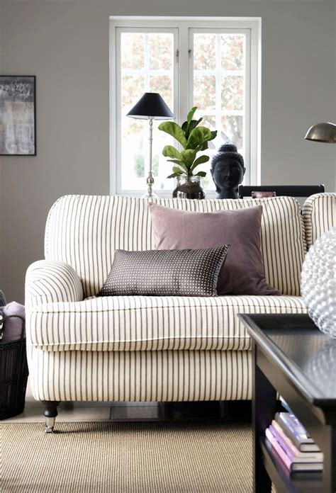 Striped Sofas Living Room Furniture Popular Living Room Top Black And White Striped Sofa Decorate With Pomoysam