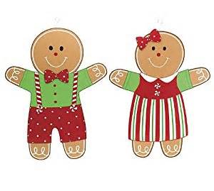 Gingerbread Kitchen Accessories - gingerbread boy amp wood wall hanging adorable