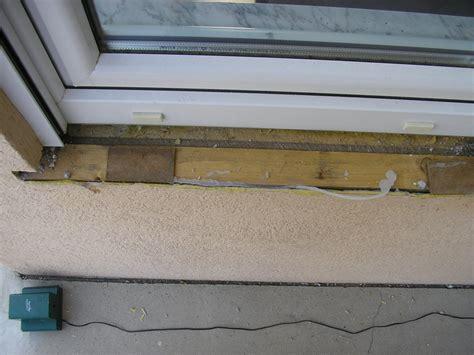 naturstein fensterbank außen einbauen schadensbilder ausbau