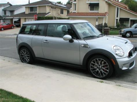 books about how cars work 2009 mini clubman on board diagnostic system buy used 2009 mini clubman john cooper works jcw in laguna hills california united states for