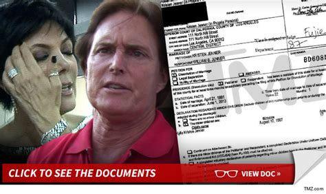what is the real deal with bruce jenner kris jenner files for divorce it s a done deal tmz com