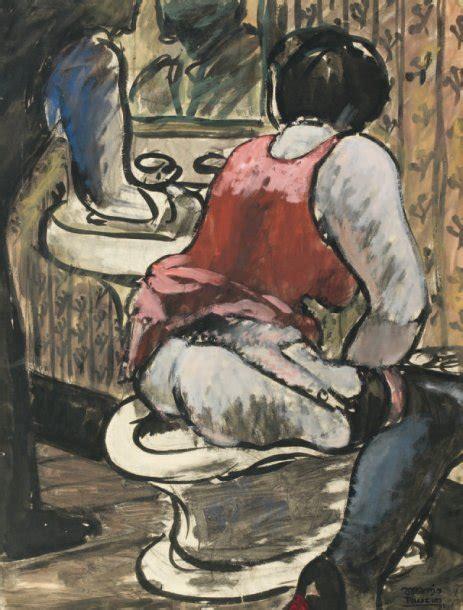 Le Bidet by Mario Tauzin Le Bidet 1931 Encre Et Gouache Sur Papier