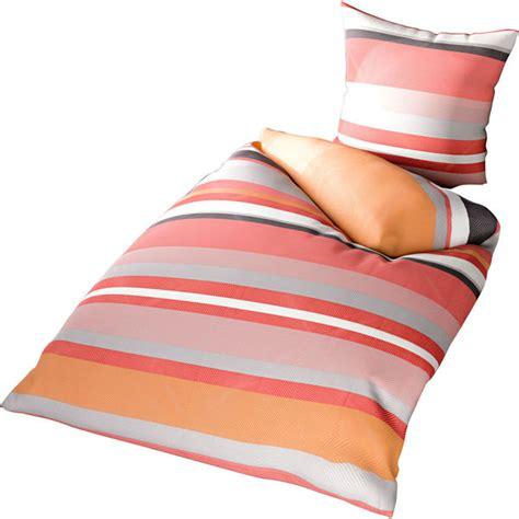 bettwasche 135x200 rot grau time to relax satin bettw 228 sche miro 135x200 orange rot