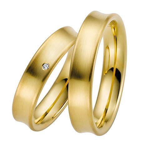 Trauringe Paar by By Goettgen Trauringe Paar Gelb 333 Gold Eheringe