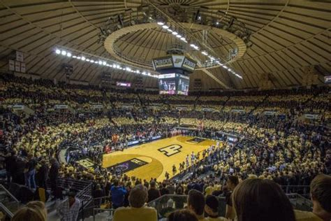 big house student section mackey purdue basketball picture of mackey arena west