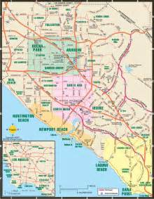 orange county overview map