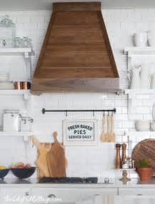 wood range hood the lilypad cottage