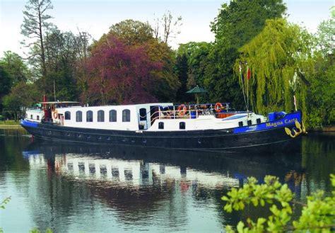 thames river cruise magna carta magna carta 8 passenger luxury barge european waterways
