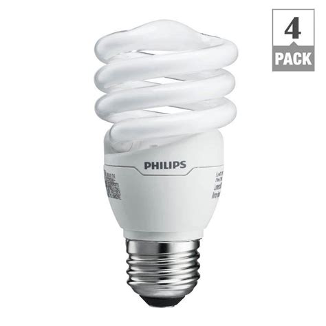 what is cfl light ecosmart 60w equivalent white spiral cfl light bulb