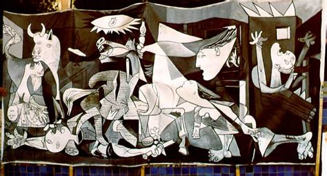 picasso paintings bombing of guernica peace