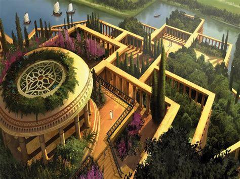 imagenes jardines colgantes babilonia las maravillas del mundo taringa