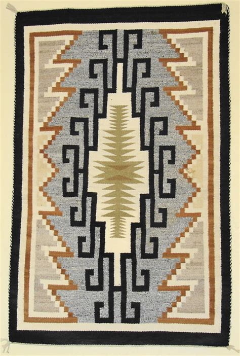 two grey rugs for sale two grey navajo rug