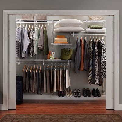 Mixed Shelf Offering by Closetmaid Professional Services Closet Storage