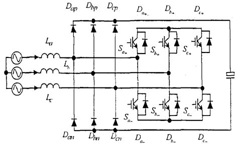 diode rectifier fed boost converter patent wo2001011763a1 unified constant frequency integration of three phase power