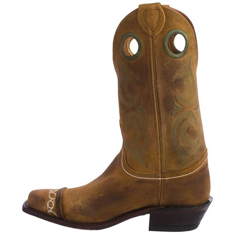 suede cowboy boots justin boots bent rail suede cowboy boots for