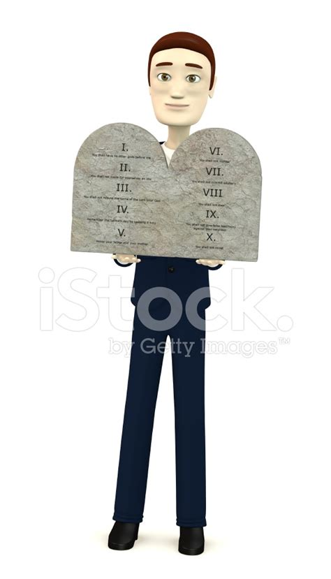 Ten Commandments Of Character character with ten commandments stock photos freeimages