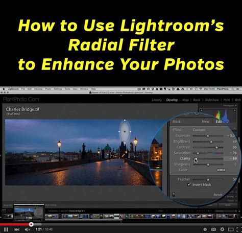 lightroom tutorial radial filter how to use lightroom s radial filter to enhance your