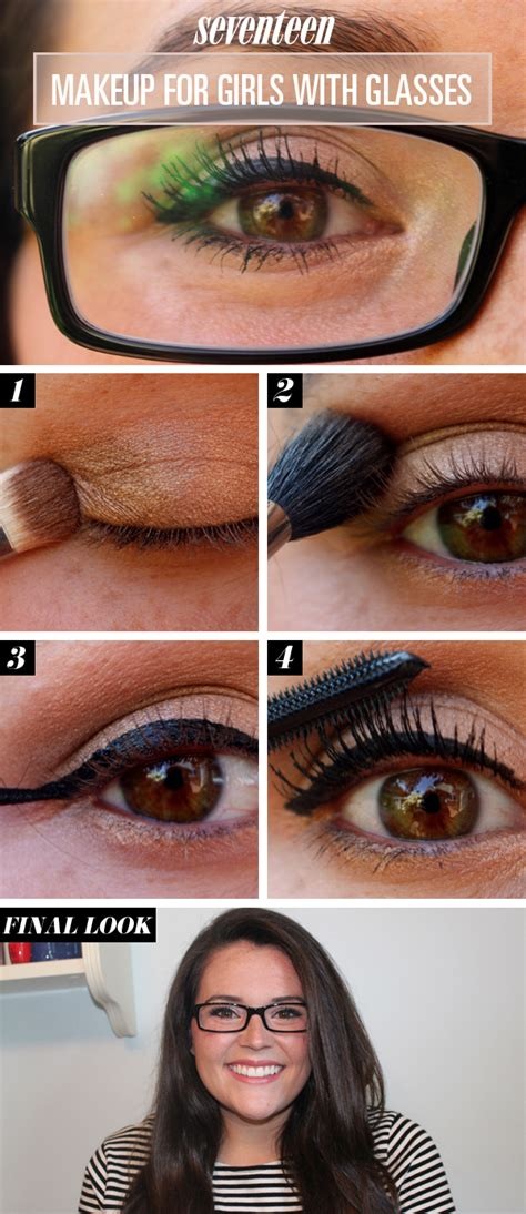 makeup tutorial for glasses eye makeup for glasses tutorial makeup for glasses