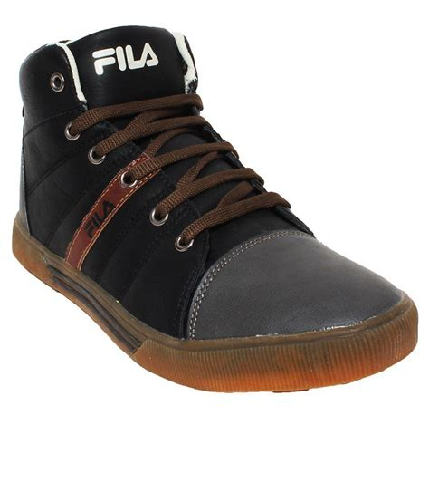 fila black lifestyle shoes price in india buy fila black