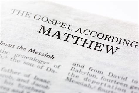 the bible great again the gospel of books how do we matthew was the author of the gospel of