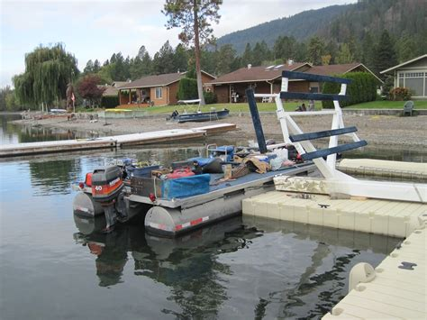 boat lift barge used boat lifts