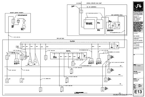line diagram of house plan electrical lighting systems general services building