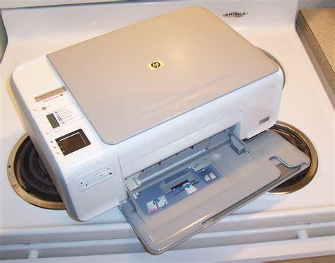 Printer Hp C4280 hp photosmart c4280 all in one printer scanner copier cc210a aba printers