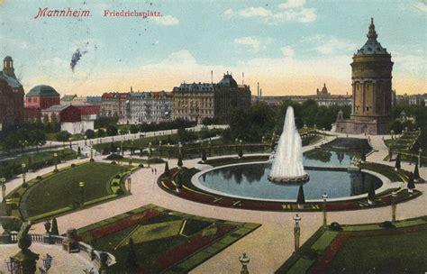 Postkarten Drucken Mannheim by Mannheim Baden W 252 Rttemberg Friedrichsplatz Zeno Org