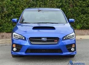 Subaru Wrx Sti Limited 2016 Subaru Wrx Sti Limited Review Test Drive