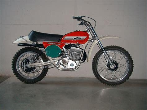Ktm Retro Motorrad by Ktm 250 Cross 1975 Vintage Motocross Bikes Pinterest