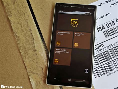 mobile usps ups mobile launches its windows phone app windows central
