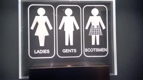 scottish bathroom signs toilet etiquette in scotland picture of scotland