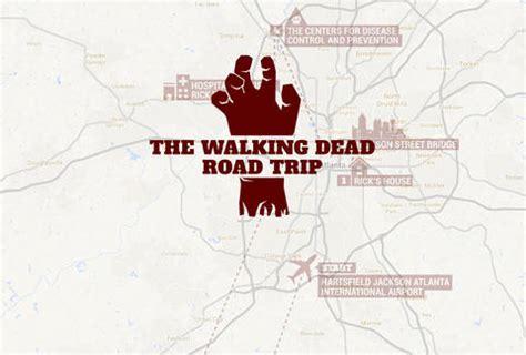 walking dead filming locations map walking dead filming locations atlanta map tour