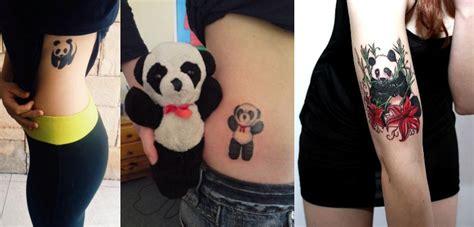 tattoo de panda significado tatuagens de urso panda