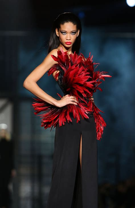 chanel iman runway dsquared2 fall 2010 runway retrospective chanel iman